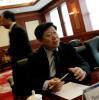 Hai'er CEO Zhang Ruimin in his office in Qingdao.