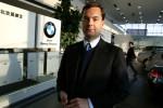 carship dealer Mark McLarty in his BMW showroom in Beijing