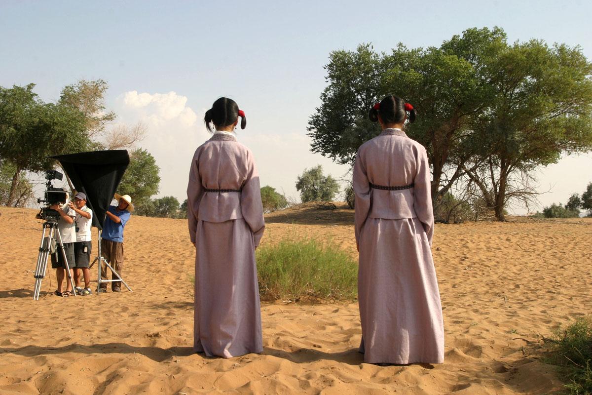 Marco Polo , documentary , Ningxia desert, China