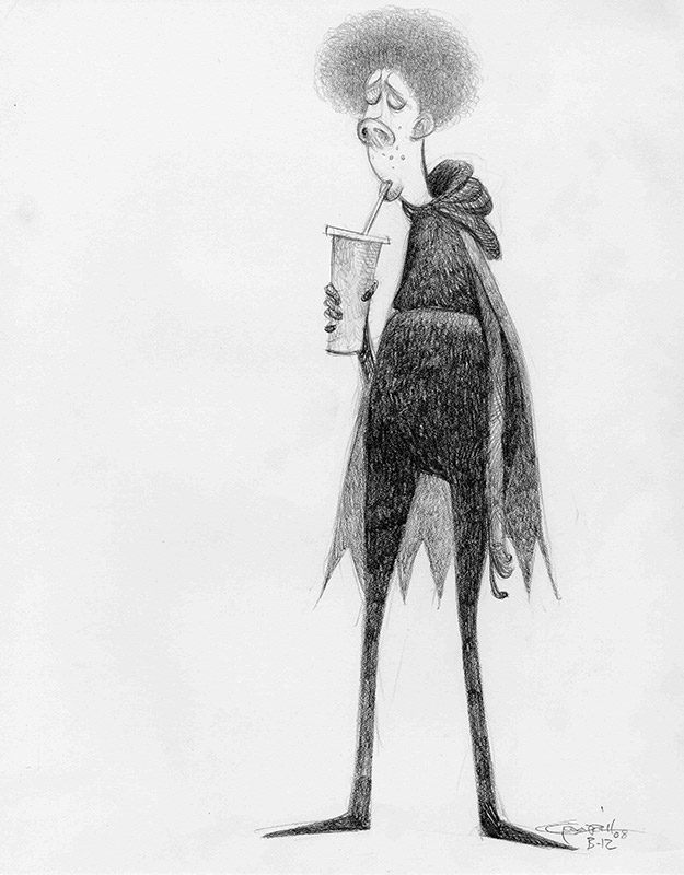 Despicable Me: Character Design: Carter Goodrich