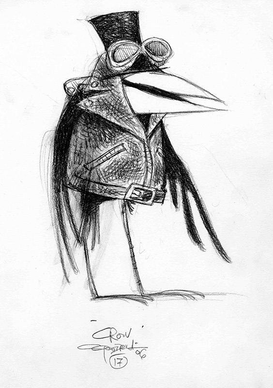 Character Design Meaning : Margaret crow mean character design