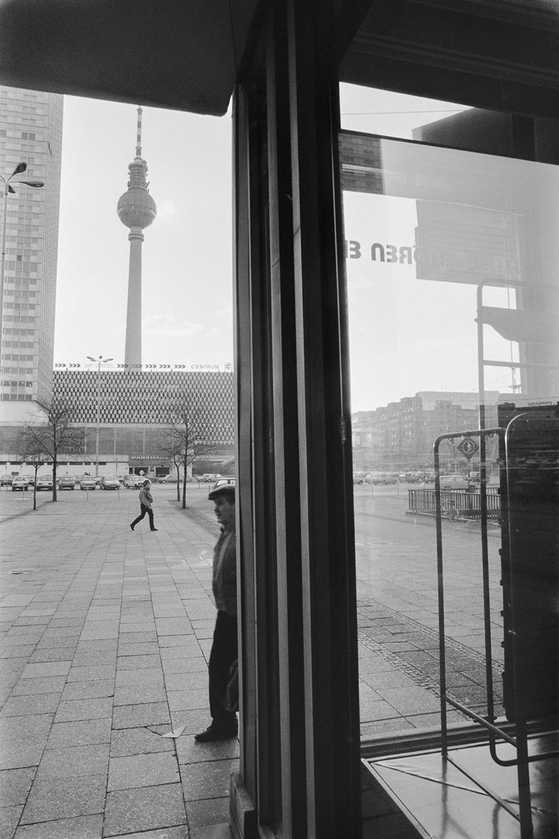 Alexanderplatz on November 10, 1989