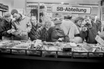 East Berliners are introduced to the consumer society on November 11, 1989