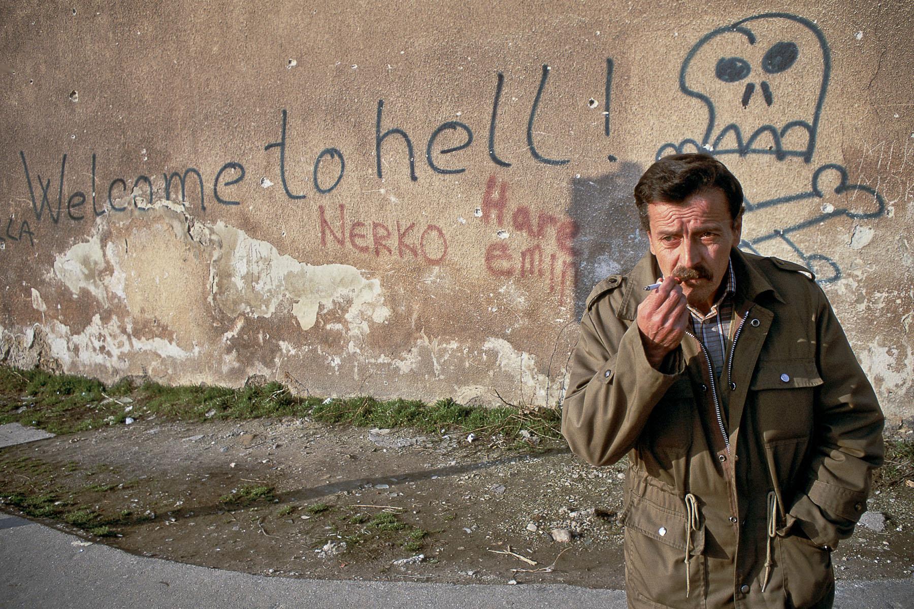 Sarajevo in April 1994