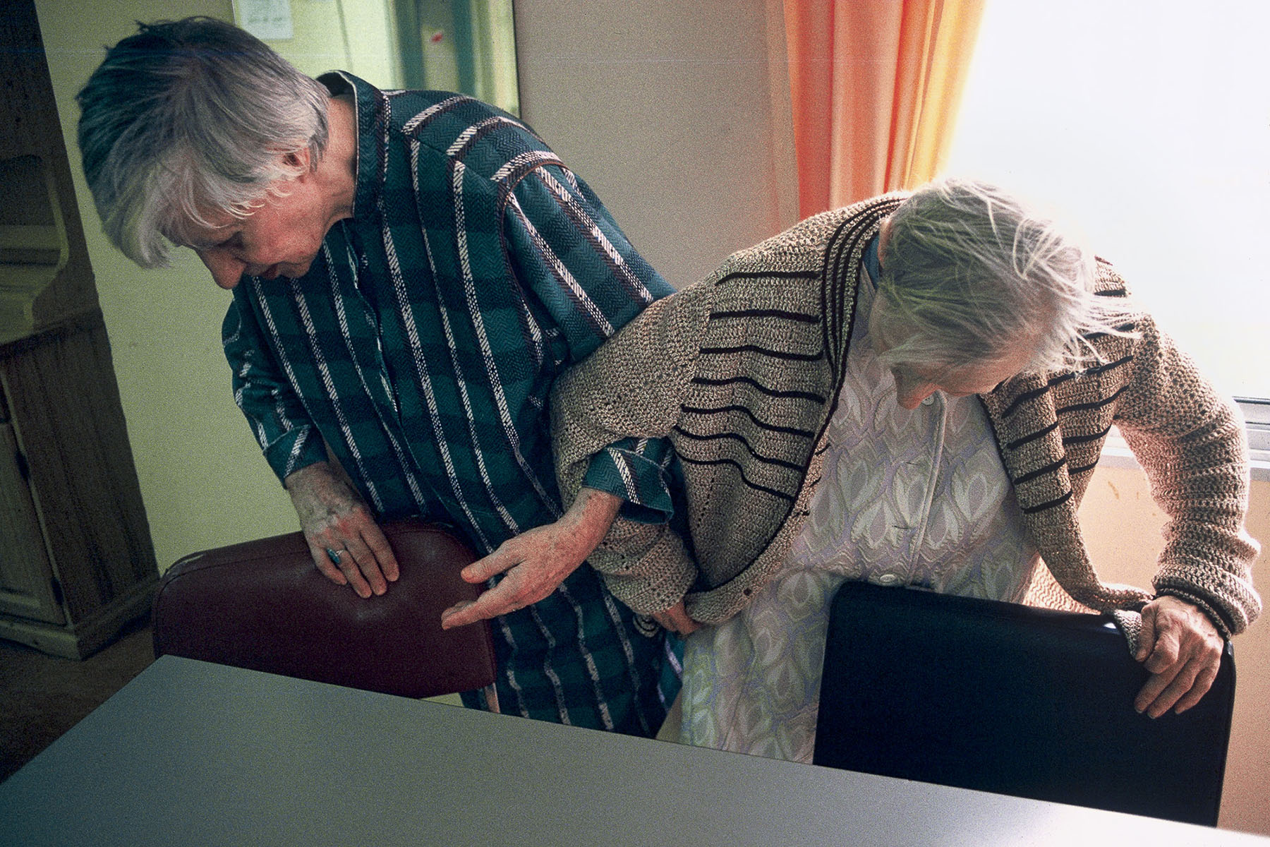 Paul Brousse geriatric center in 1993
