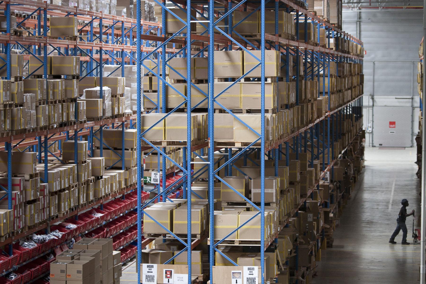 The Katoen Natie warehouses, n° 1 logistics provider in the port of Antwerp in July 2010