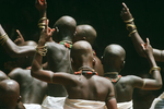 Ceremony ending initiation to the god Loko in March 1998