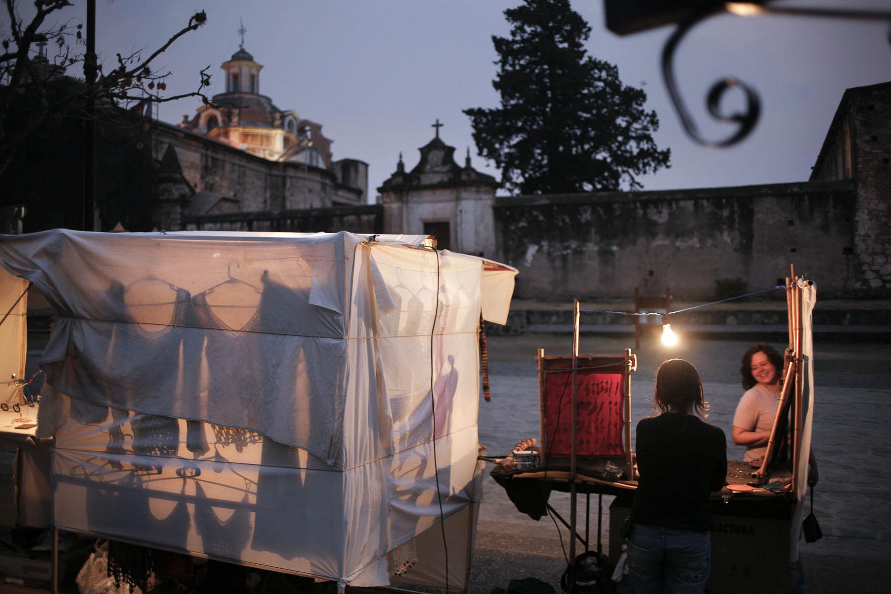 Alta Gracia, the town where Ernesto «Che» Guevara de la Serna spent his youth in September 2007