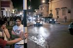 Saturday night in Alta  Gracia, the town where Ernesto «Che» Guevara de la Serna spent his youth in September 2007