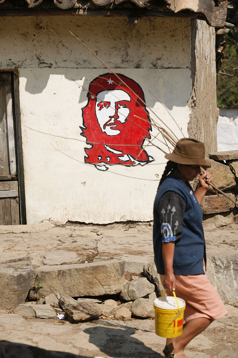 The village where Ernesto «Che» Guevara was executed by the Bolivian army on October 9th, 1967 in September 2007