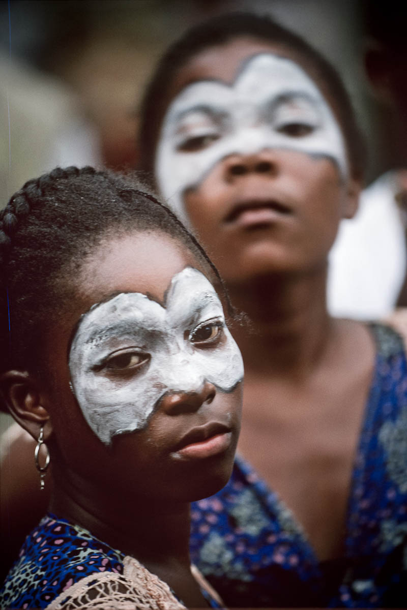 Tumaco. Procession for peace in July 1998