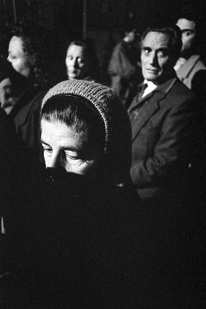 Federico Fellini's funeral