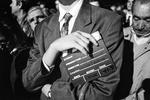 Federico Fellini's funeral, november 1993