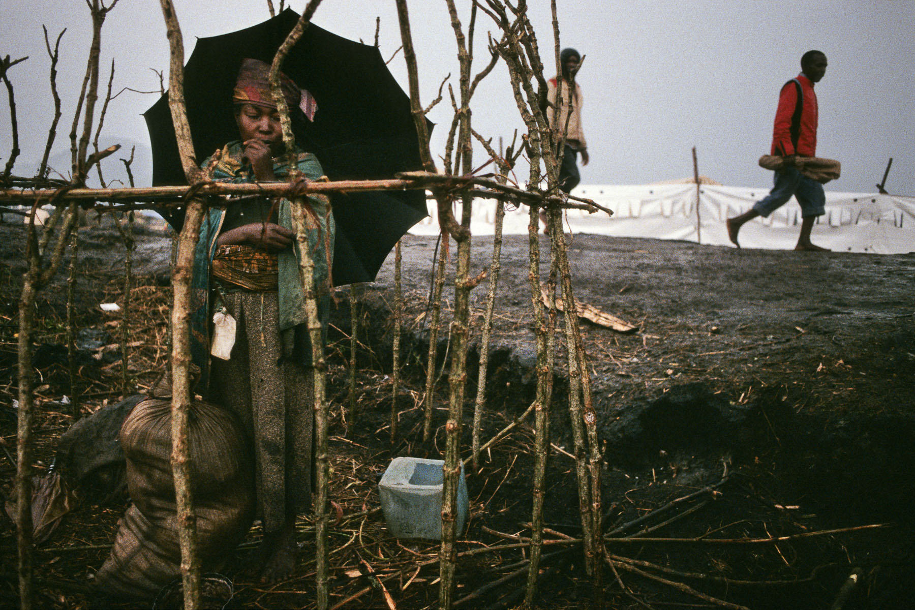 Rwandan Hutu refugee camp of Kibumba in August 1994