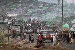 Rwandan Hutu refugee camp of Kibumba in August 1994