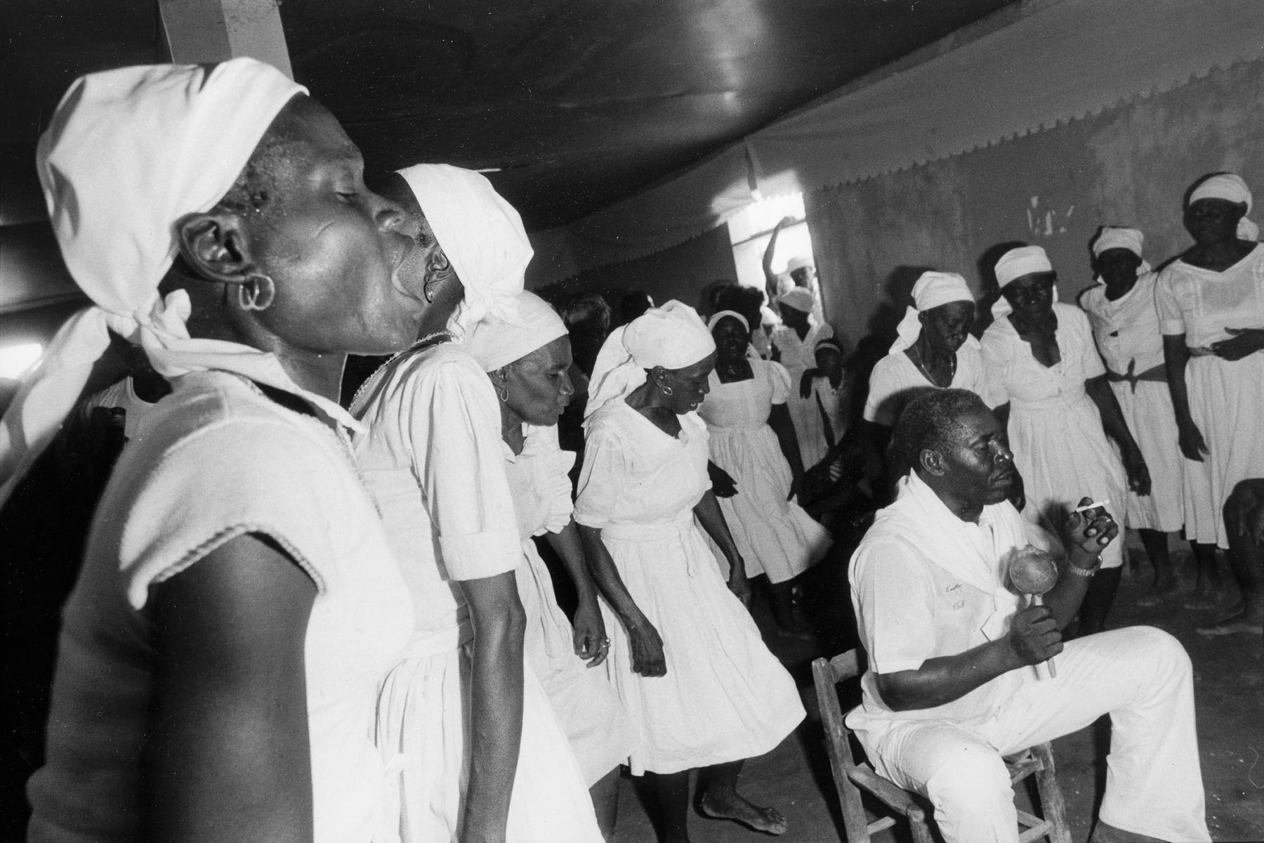 Voodoo ceremony in August 1986
