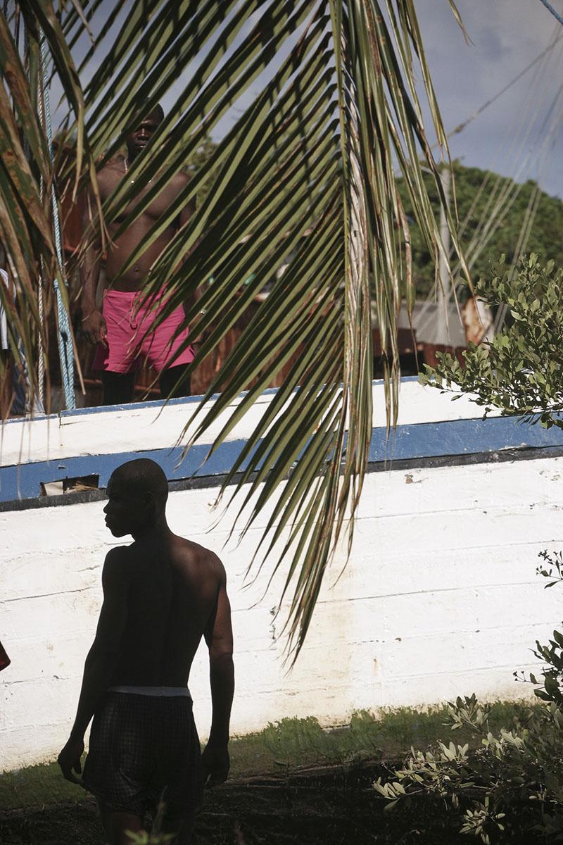 Cap-Haitien port in October 2003