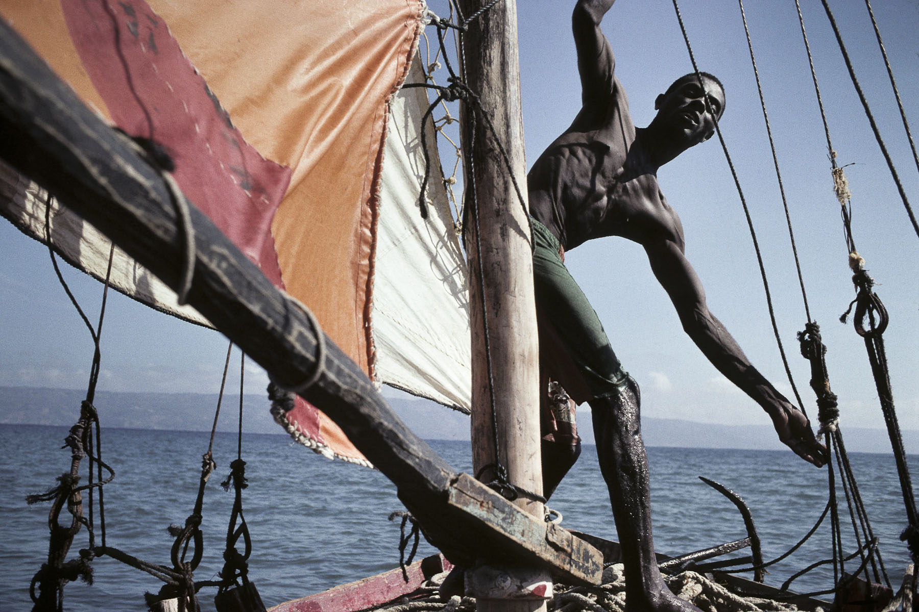 On a sailboat to Turtle Island in 1997