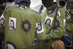 Nigerian Christian pilgrims in front of the Holy Sepulchre during Holy Week in March 2008