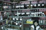 Traditional medicine merchant on April 2005
