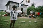 Rasta community in Port Antonio in January 2001