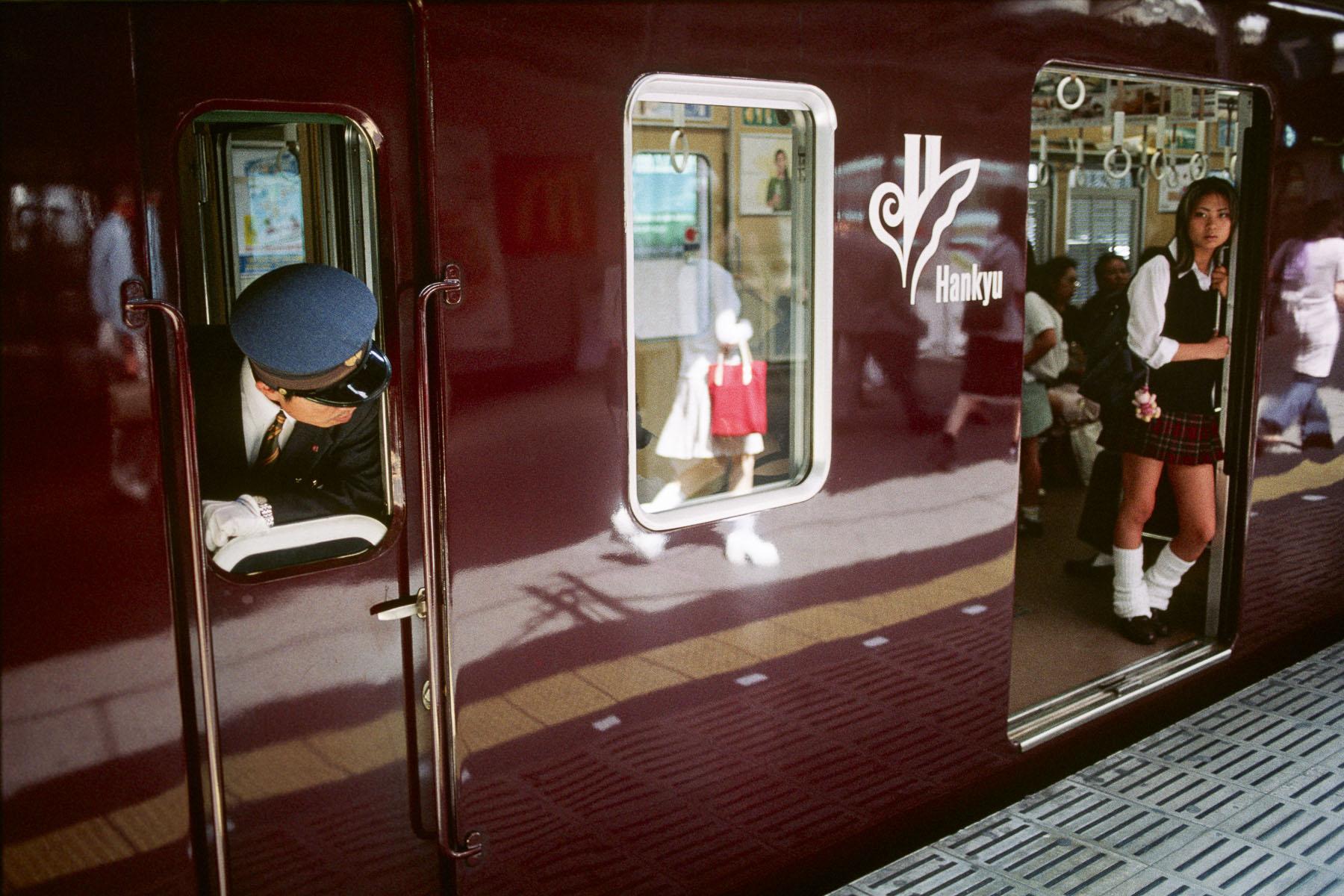 Sannomiya Station in May 1999