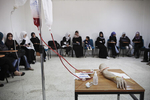 Course of surgery for voluntary Libyan women in April 2011