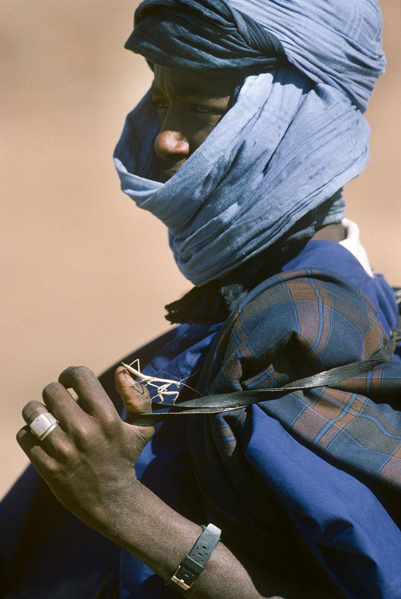 Peul sheperd in Diafarabe in 1994