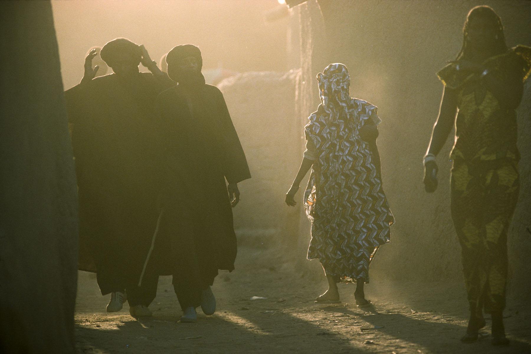 Niafunke, village on the Niger River in 1995