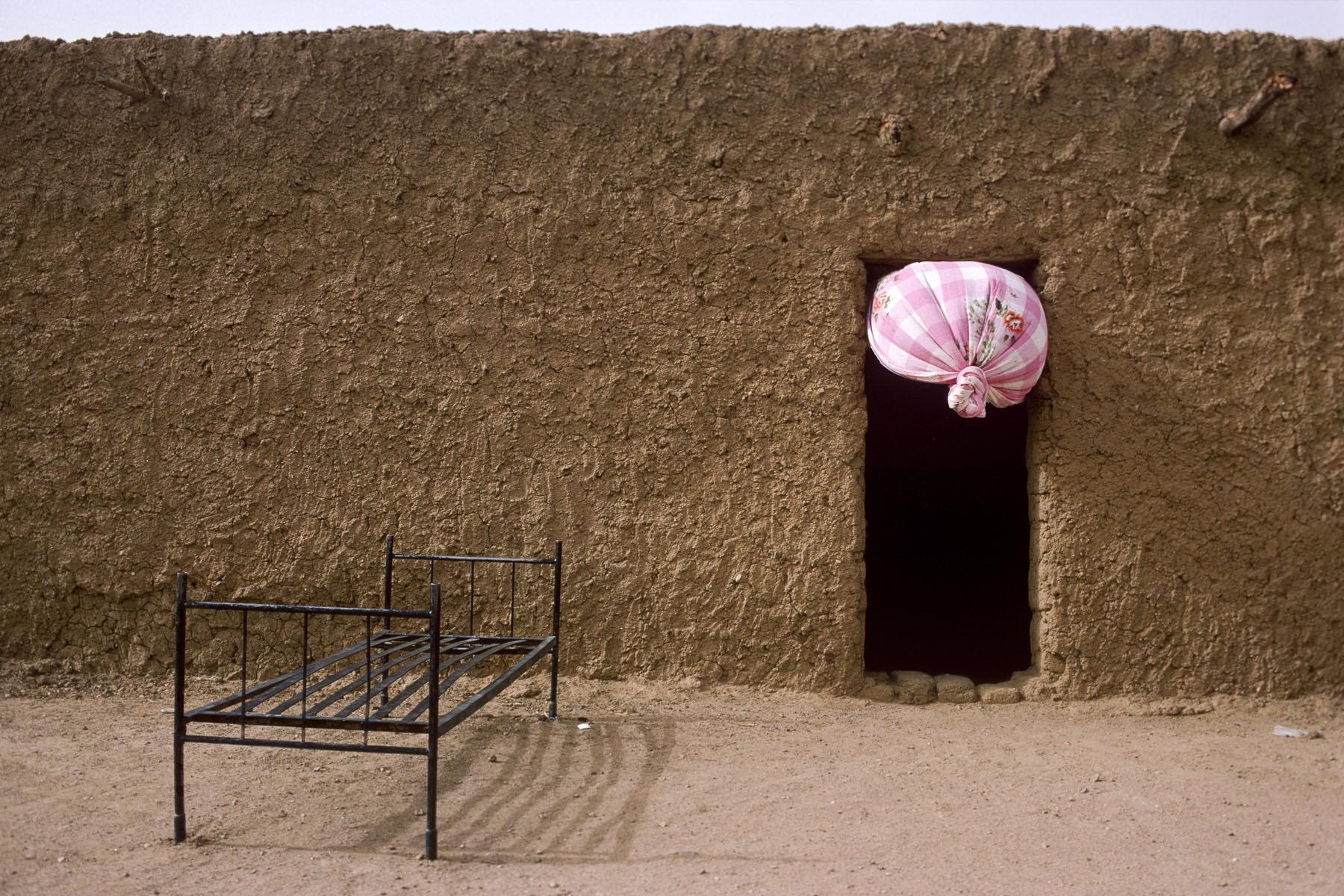 Sandstorm in Kidal in 2004