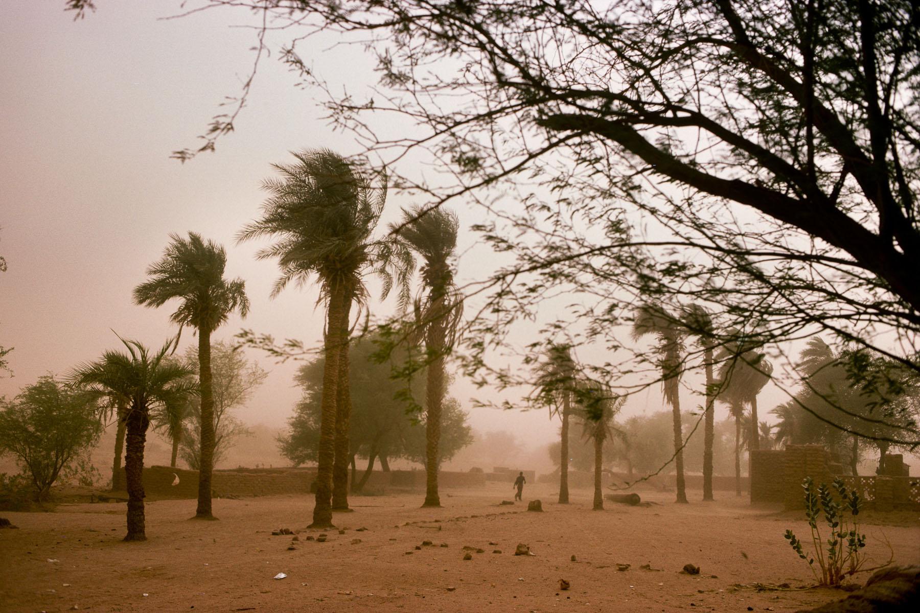 Sandstorm in Kidal in 1995