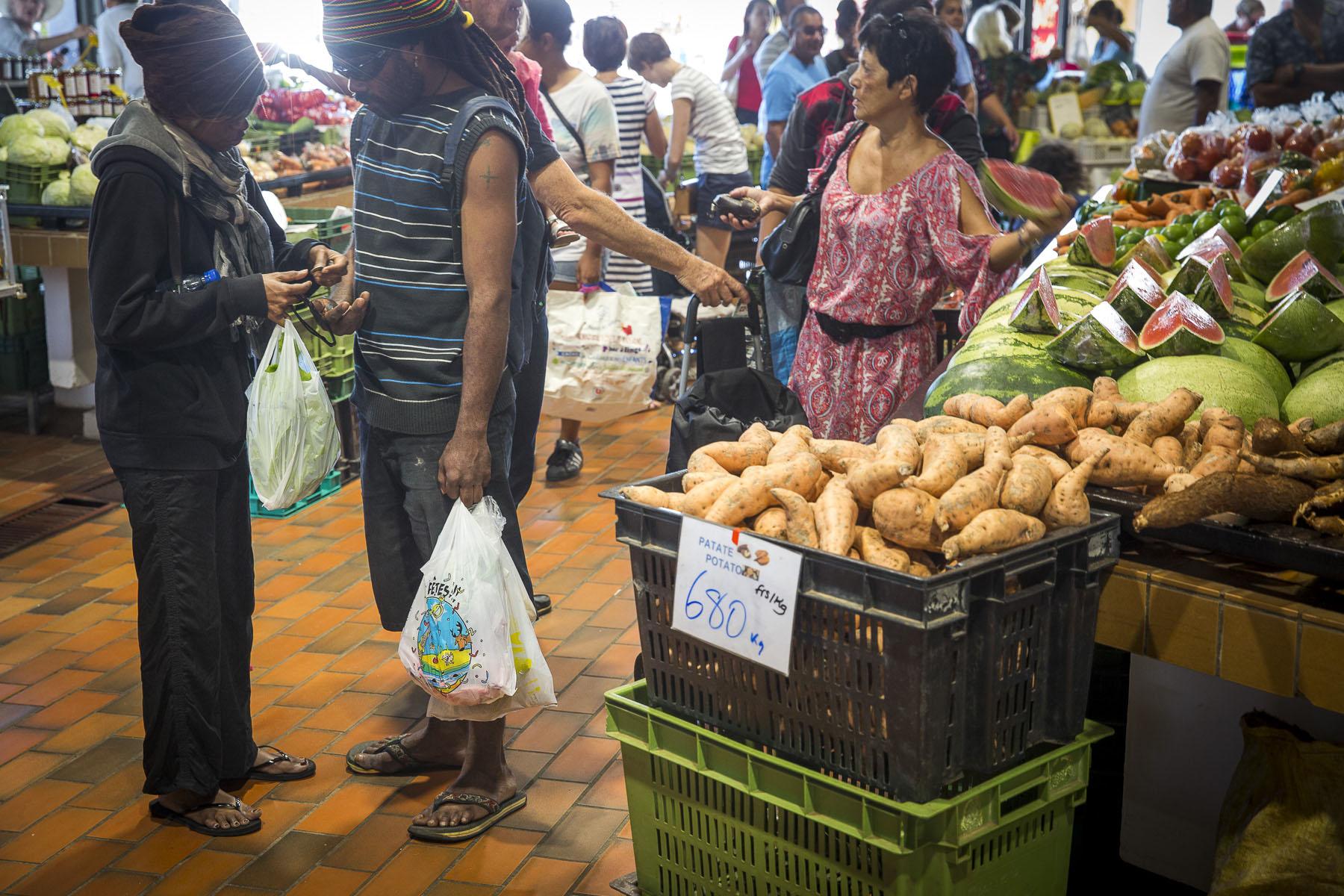 Noumea market, november 2017