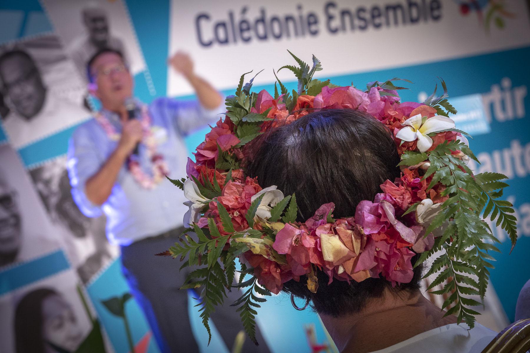 Party congress {quote}Calédonie Ensemble{quote} November 2017