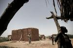 Village in the Sahel area in September 2005