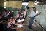 Pont-Rouge, Saint-Lazare school in November 2003