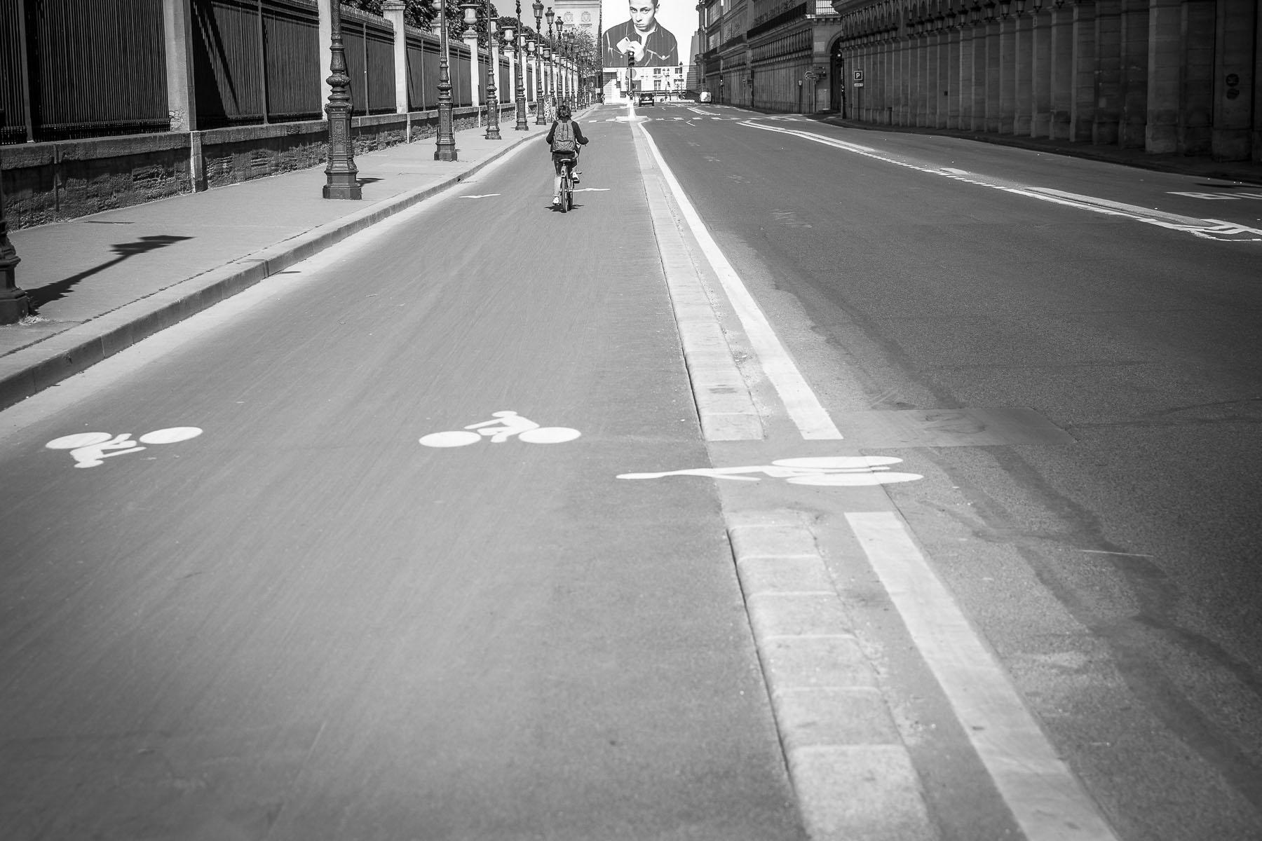 Rue de Rivoli, April 2020
