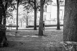 Place Emile-Goudeau, April 2020