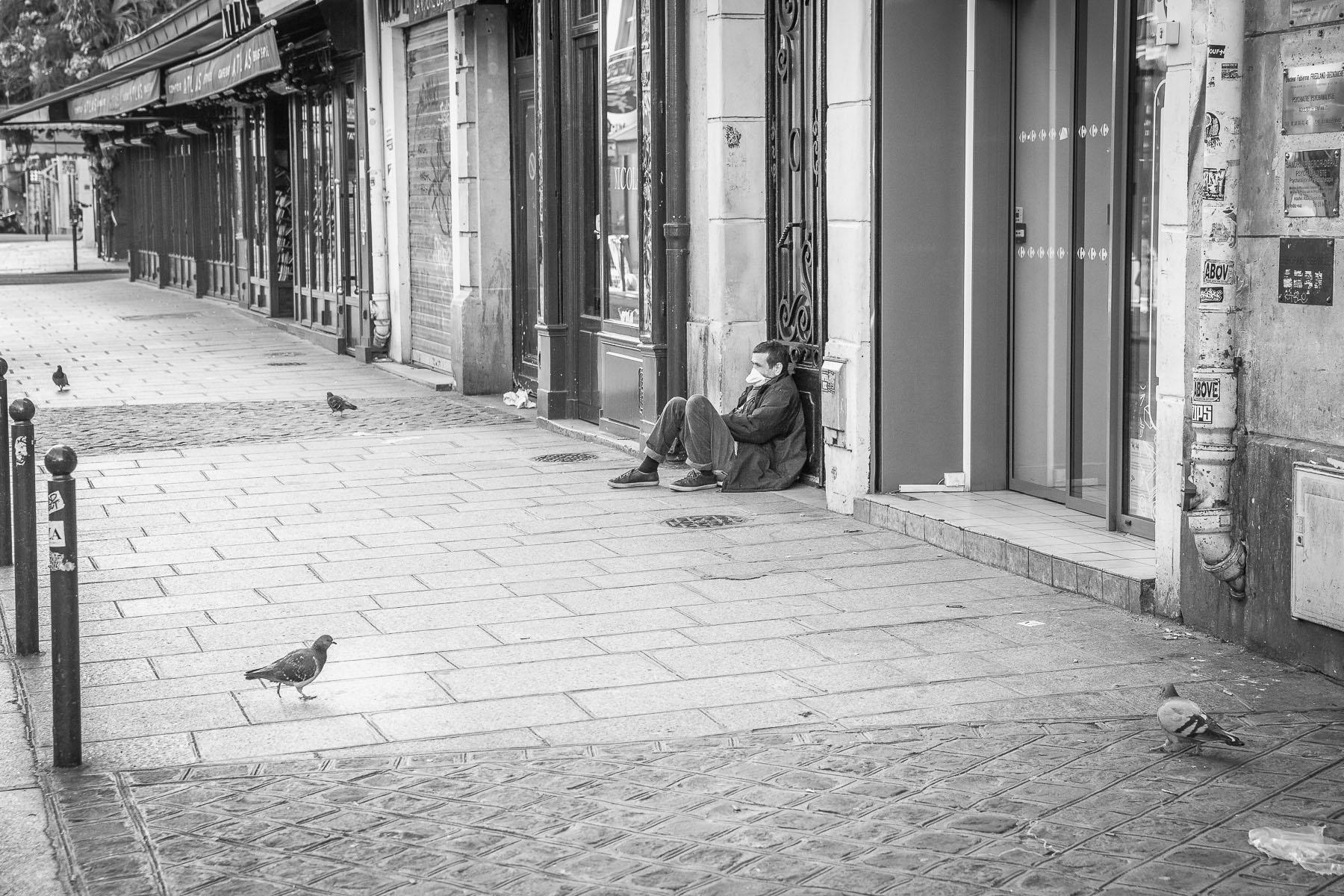 Rue de Buci. March 2020