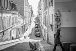Rue Berthe, Montmartre, April 2020
