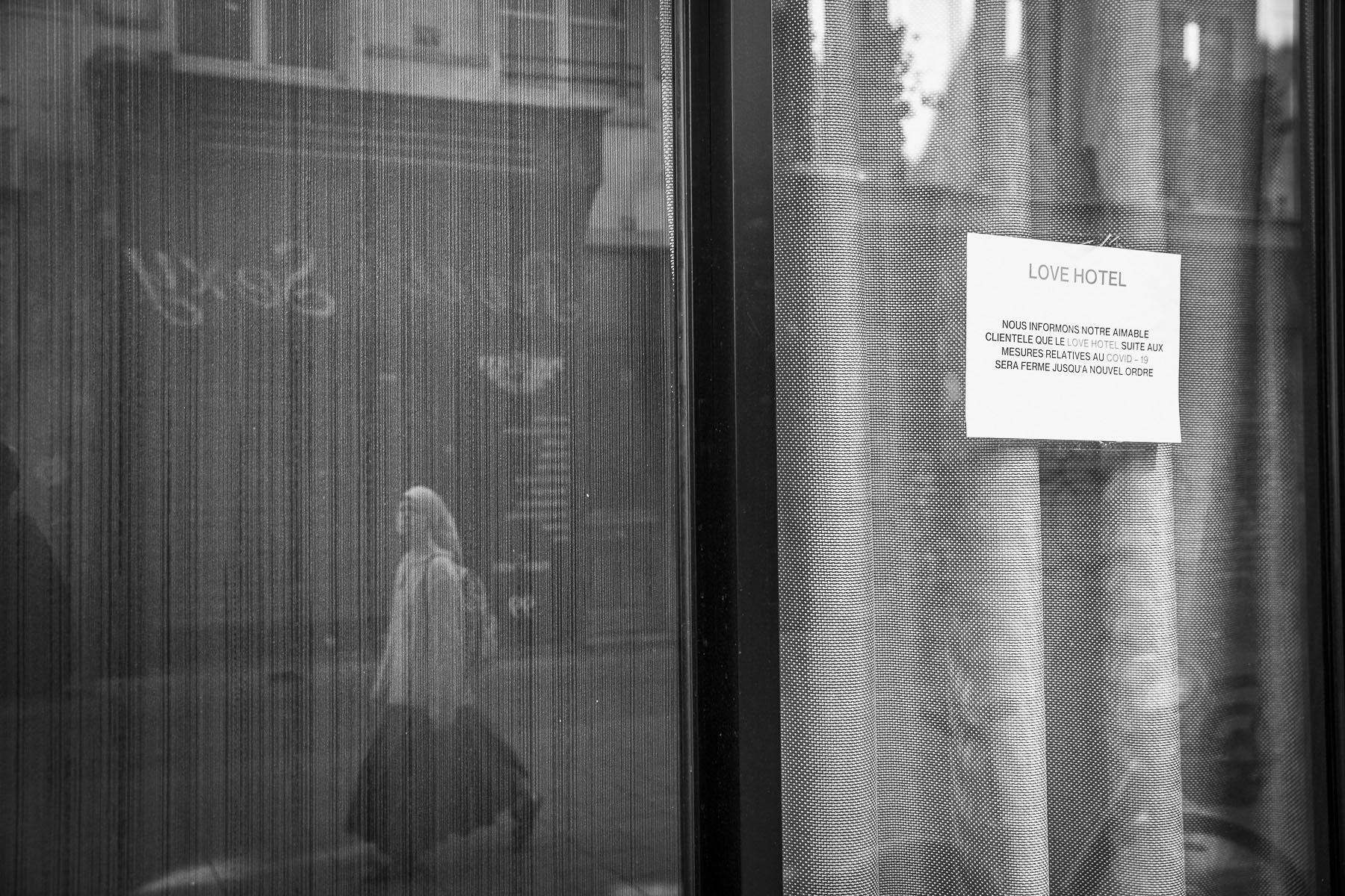 Rue Saint Denis, April 2020
