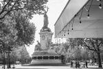 Place de la République. April 24 2020