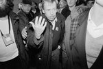 Vaclav Havel, writer and political leader of the velvet revolution in November 1989