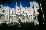 The Pope's Palace of Avignon. 2000