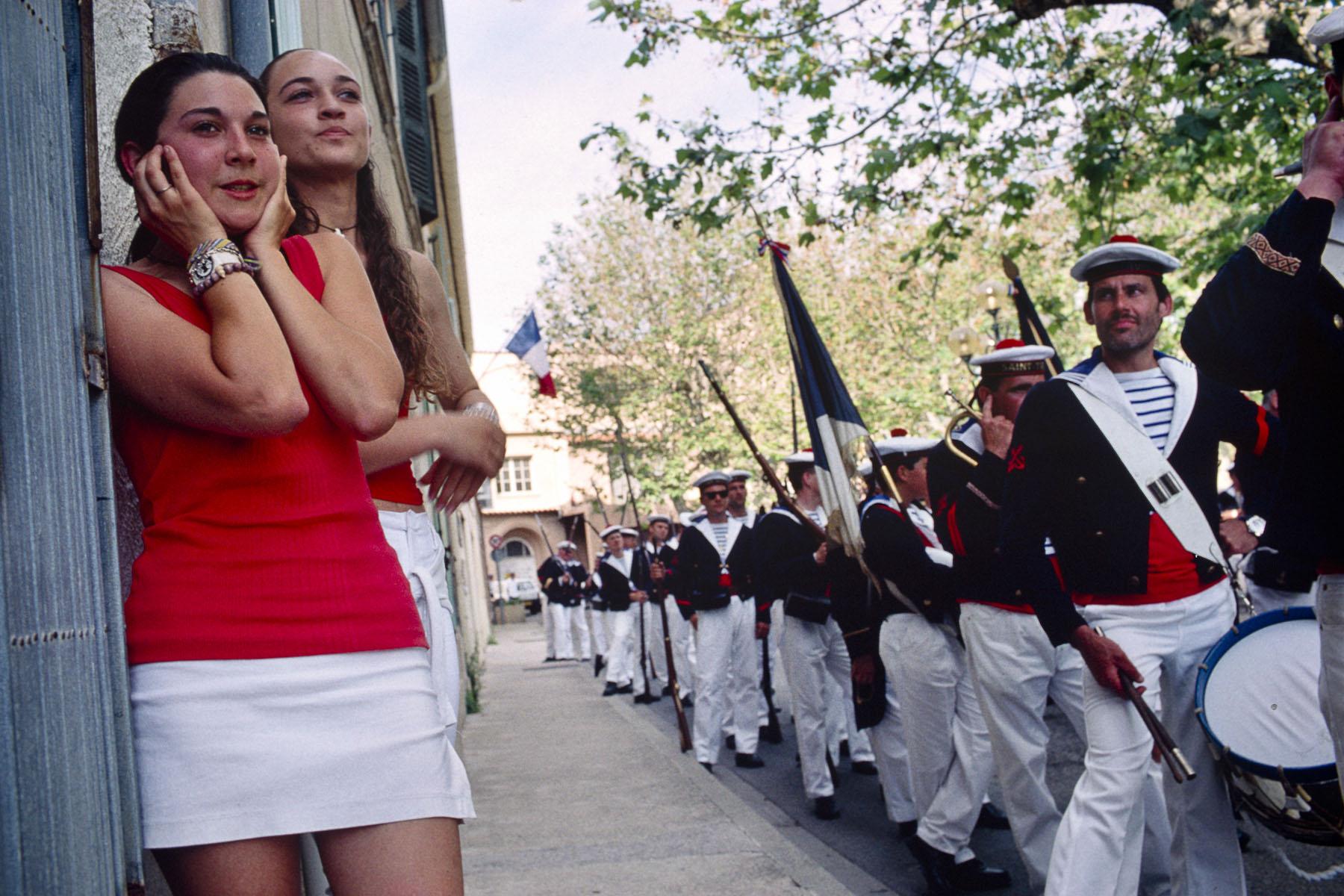 La Bravade, traditional procession. 2000