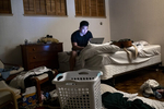 Andrew Kim works at the summer office of Do Not Pay, which is the same house that Facebook rented in the summer of 2004 in Palo Alto, Calif., on Wednesday, August 15, 2018. Do Not Pay was originally started by CEO Joshua Browder as a chatbot to help people fight parking tickets. They are currently working on an app that will automate 12 big areas of the law with the ultimate goal of making the law free. The house, located at 819 La Jennifer Way in Palo Alto, is the home Mark Zuckerberg rented in the summer of 2004 and served as Facebook's headquarters that summer. The house is typically rented to Stanford Graduate School of Business during the academic year who often sublet it to a start-up for the summer. CONTACTS: Joshua BrowderDo Not Pay CEObrowder@standford.edu702-427-0470Andrew Kimakandrewkim@gmail.com562-665-9119Harshita Aroraharshita@harshitaapps.com201-895-876516 years old, but she lives alone in US and parents are in India. Dad's contact:Ravinder Singh Aroraravindersinghfinance@gmail.com+91 9412232320Drew Soldiniasoldini@college.harvard.edu518-275-7391Russell Pekalarussell.pekala@gmail.com612-876-2210