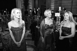 Gala chairwoman Shannon Cronan (left) checks out the decorations with other members of the ballet auxiliary before the start of the San Francisco Ballet Opening Night Gala at City Hall in San Francisco, Calif., on Wednesday, January 24, 2007. This photograph is of a candid moment and was not directed in any way.