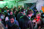 Guests of a party to celebrate the three-year anniversary of 20 Mission, a co-living house, dance and listen to a DJ playing music using silent disco headphones in the building's courtyard during the party in San Francisco, California in March 2015. Around 45 people live in the building, many of them start-up entrepreneurs. Impromptu gatherings happen frequently, but the community's larger parties, which are held every few months, have made the space well known, especially among the start-up community.