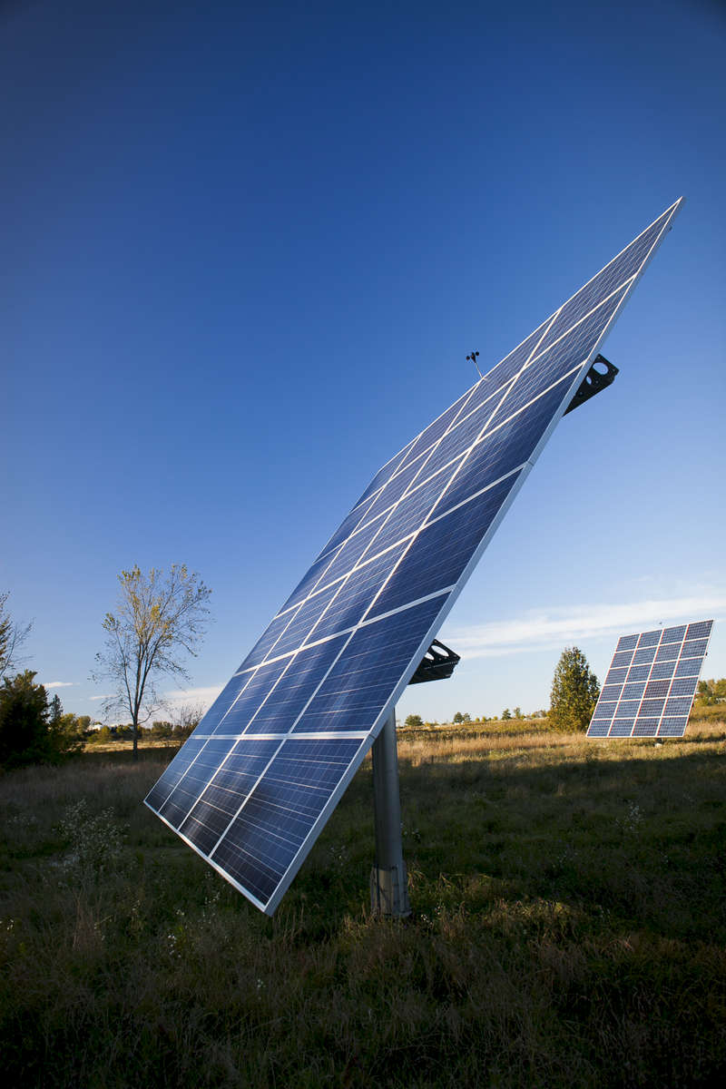 The solar array at  The Farm at South Village is one of Vermont's first group net-metered solar projects.  Shot in Vermont, by Vermont photographer Judd Lamphere