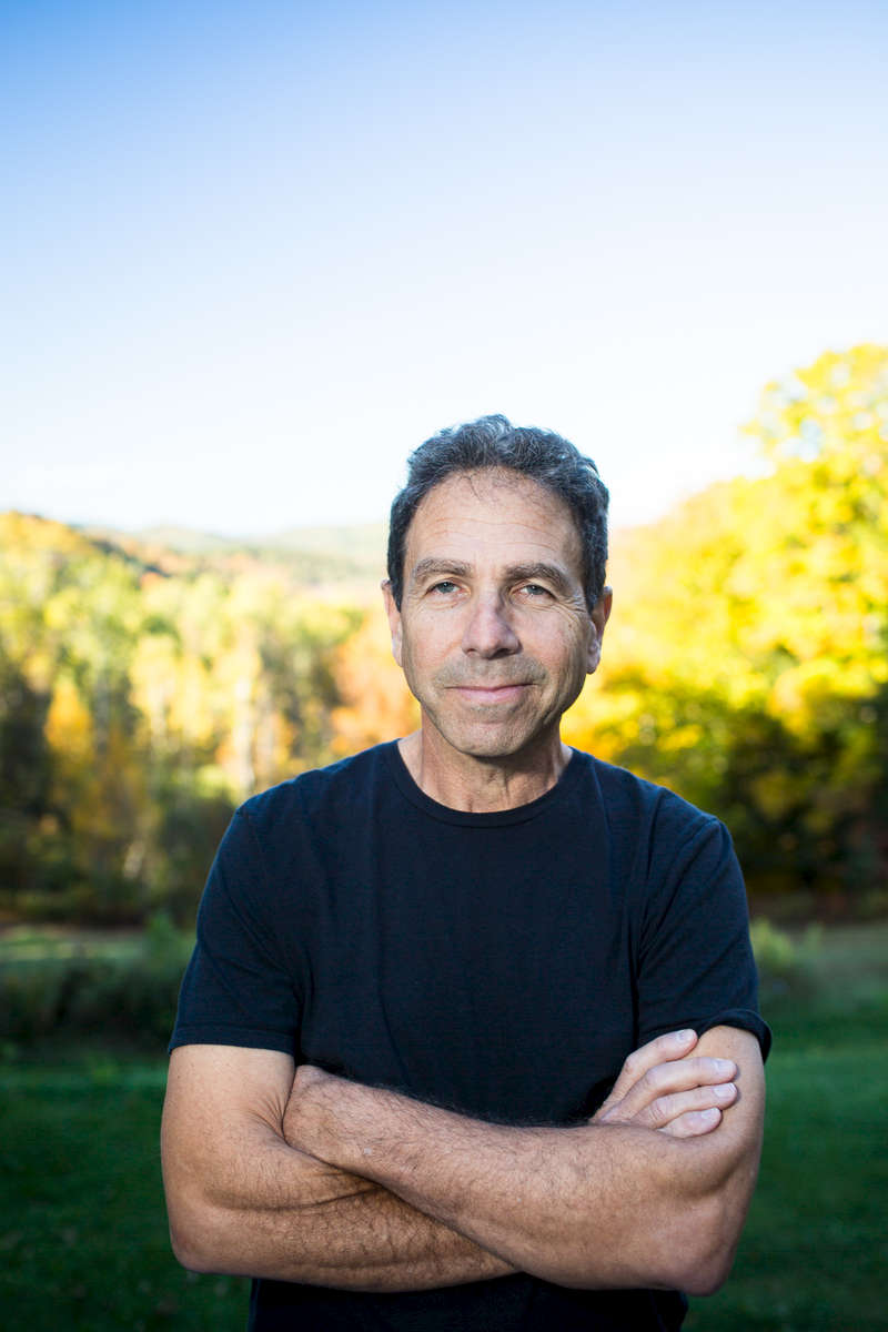 Jim Sadwith at his home in Woodstock, Vermont shortly before the release of his film Coming Through the Rye, on Wednesday, October 5, 2016.