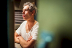 Matisyahu whistles before his performance at Higher Ground in Burlington on December 16, 2014. By Vermont Photographer Monica Donovan for Billboard Magazine